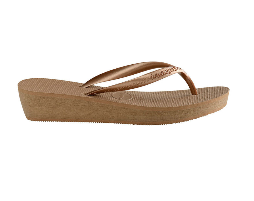 HAVAIANAS HIGH LIGHT in ROSE GOLD-4