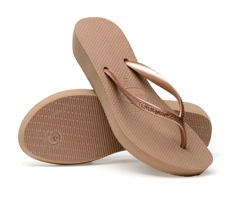 HAVAIANAS HIGH LIGHT in ROSE GOLD-5