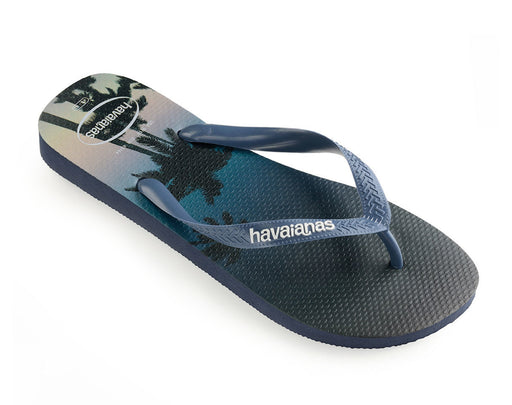 HAVAIANAS HYPE in NAVY & STEEL BLUE-1