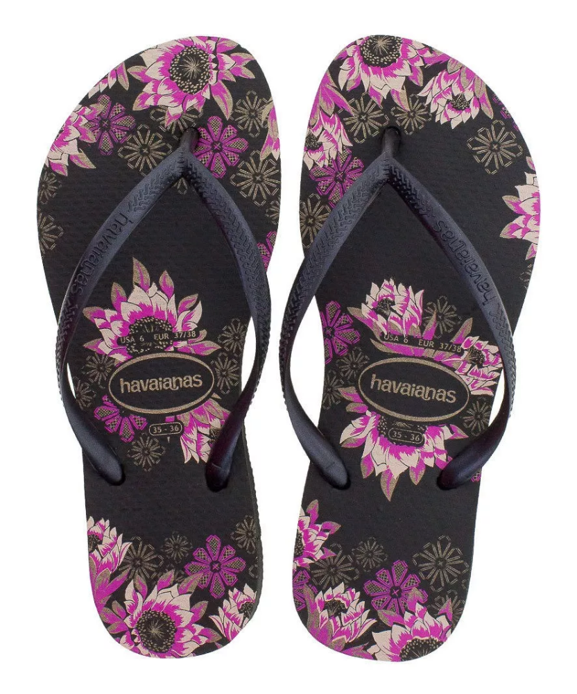 Havaianas Slim Organic for Women (Black)