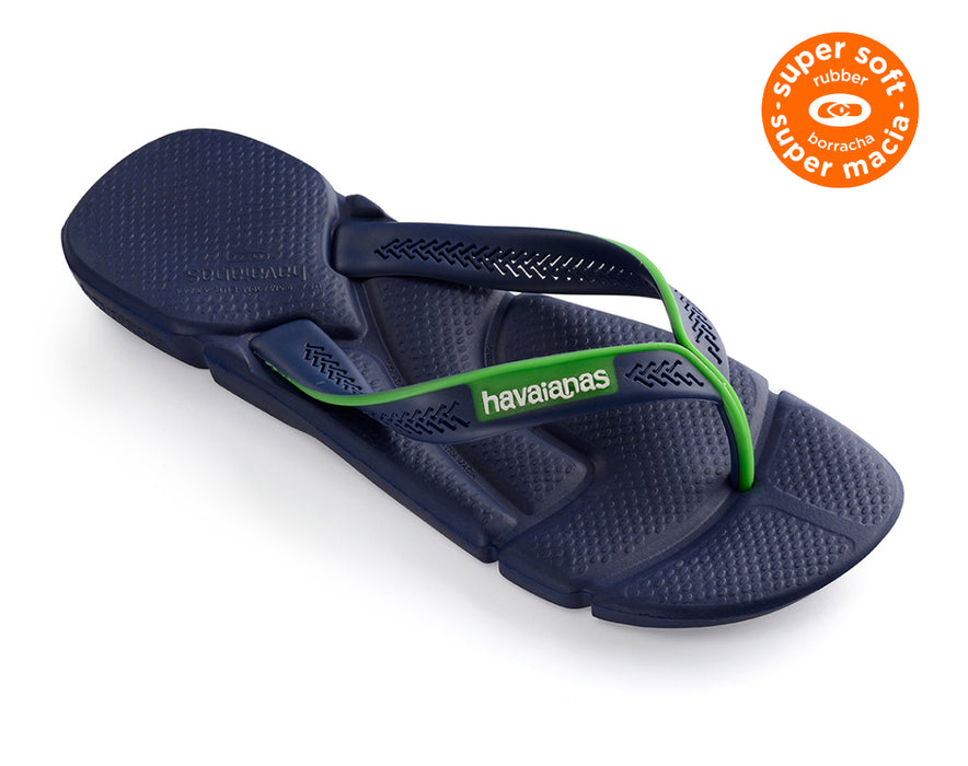 HAVAIANAS POWER in NAVY BLUE & WHITE-1