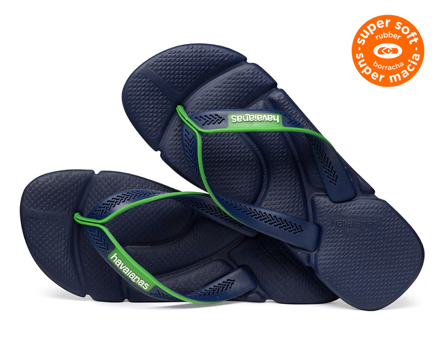 HAVAIANAS POWER in NAVY BLUE & WHITE-3