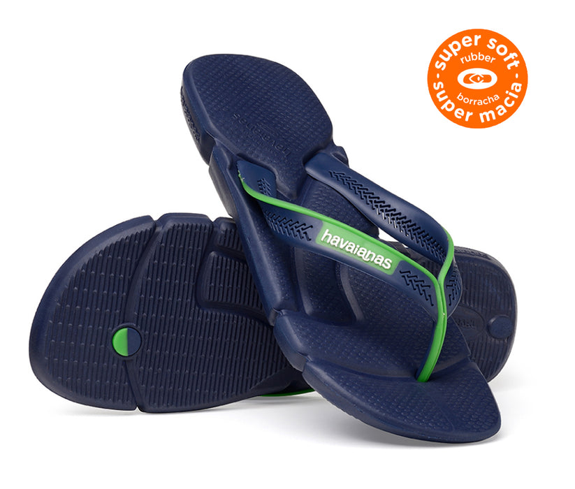 HAVAIANAS POWER in NAVY BLUE & WHITE-5