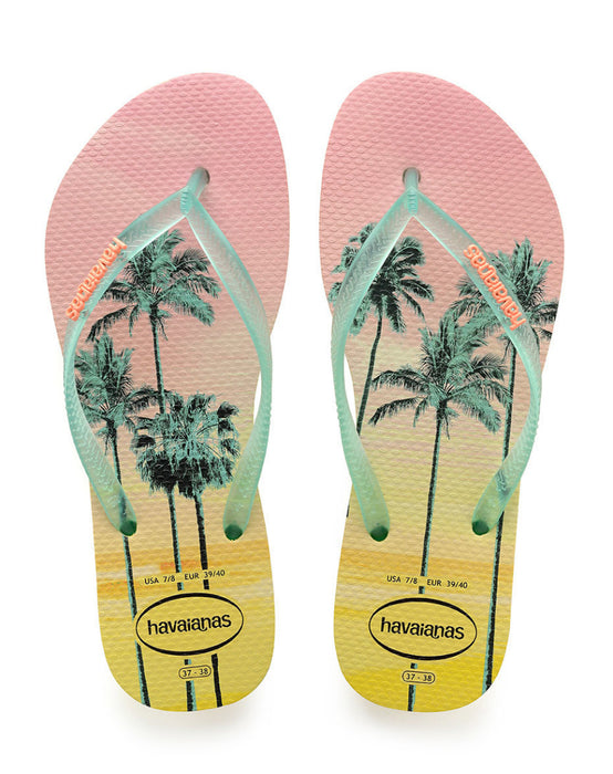 HAVAIANAS SLIM PAISAGE in POLLEN YELLOW-2