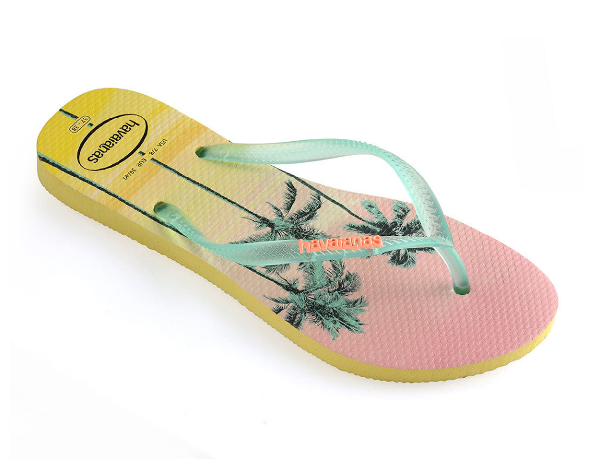 HAVAIANAS SLIM PAISAGE in POLLEN YELLOW-1