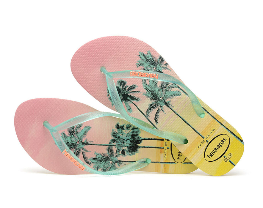 HAVAIANAS SLIM PAISAGE in POLLEN YELLOW-3