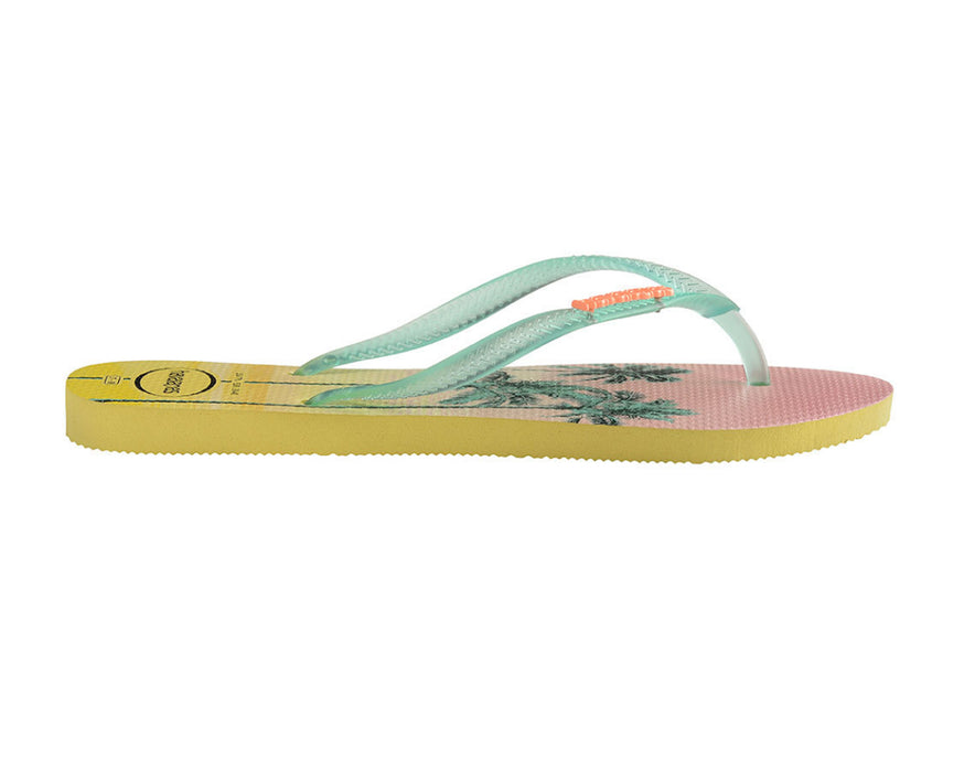 HAVAIANAS SLIM PAISAGE in POLLEN YELLOW-4