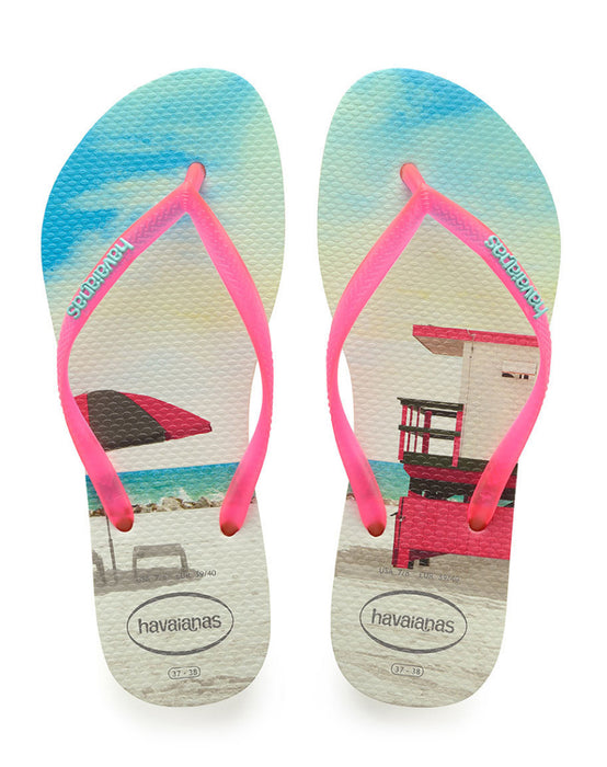HAVAIANAS SLIM PAISAGE in APPLE GREEN-2