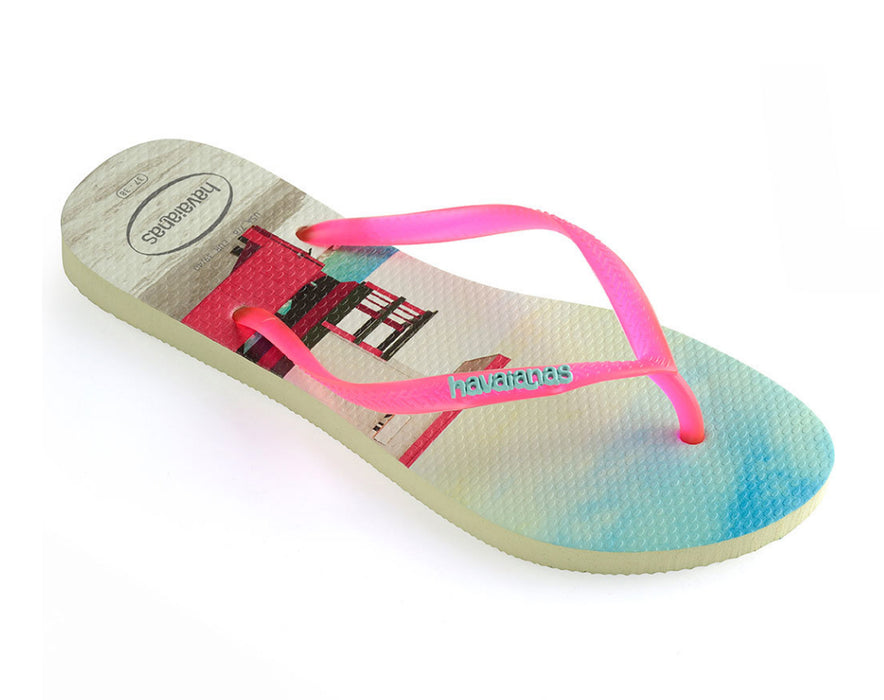 HAVAIANAS SLIM PAISAGE in APPLE GREEN-1
