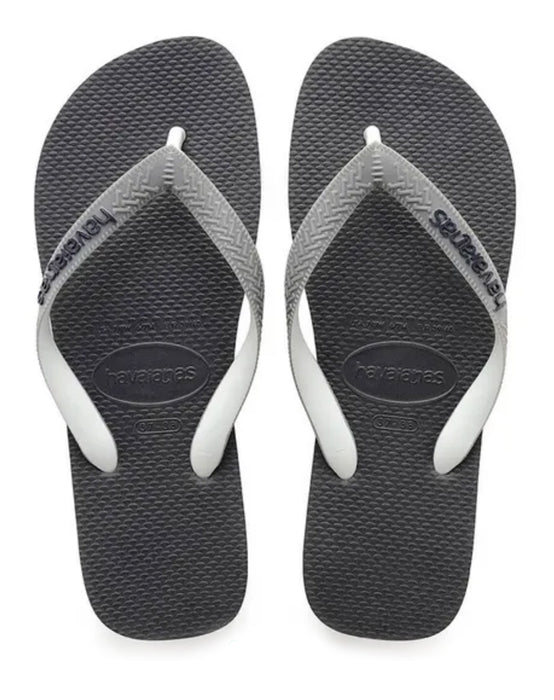 HAVAIANAS TOP MIX in GRAPHITE & GREY-2