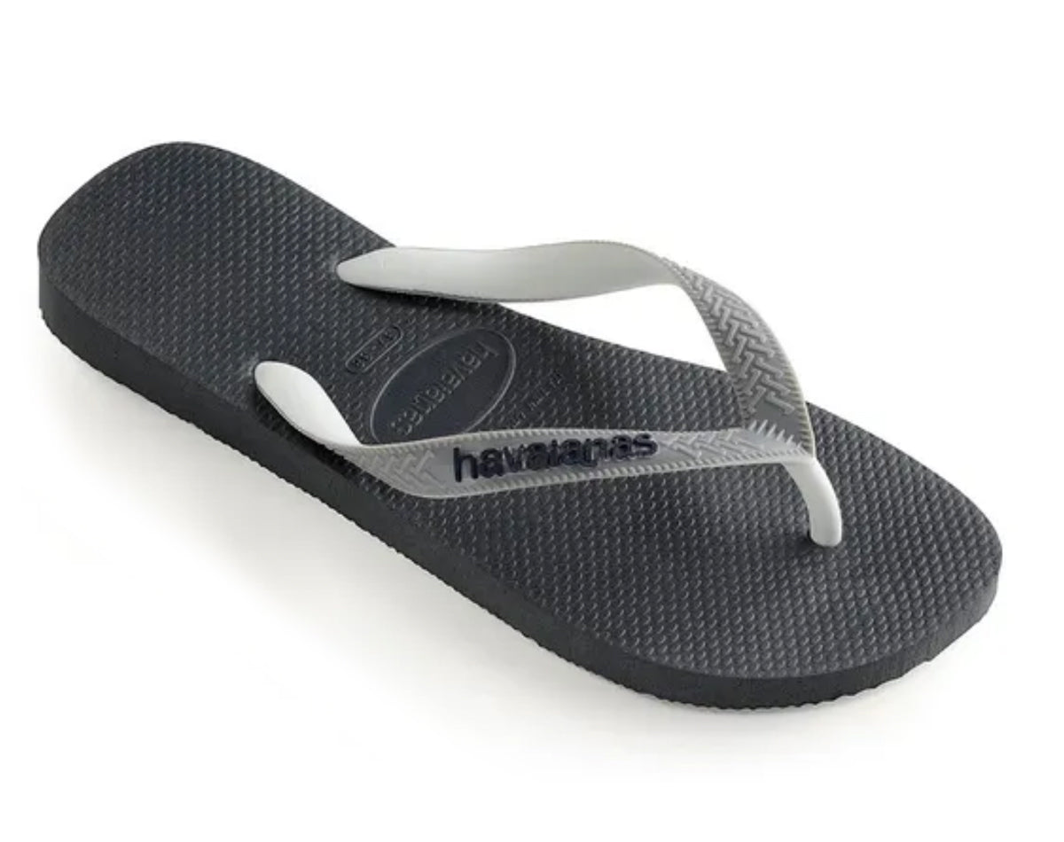 HAVAIANAS TOP MIX in GRAPHITE & GREY-1