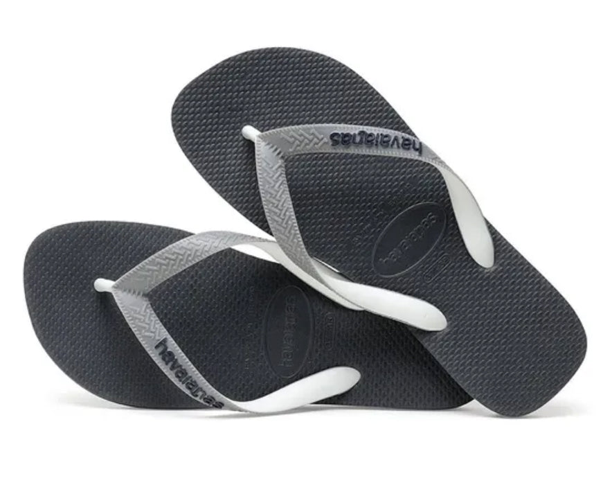 HAVAIANAS TOP MIX in GRAPHITE & GREY-3