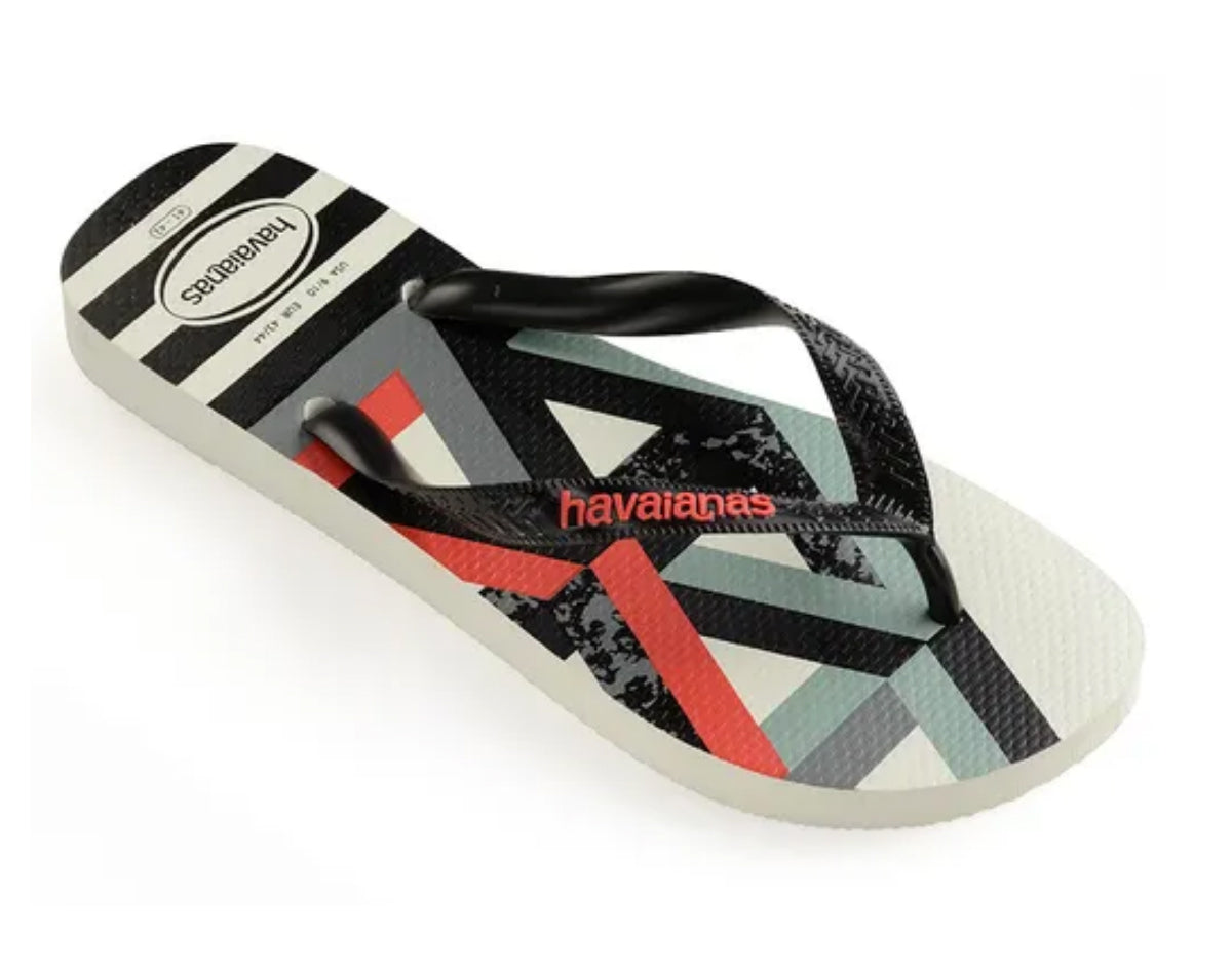 HAVAIANAS TREND in WHITE & STRAWBERRY-1