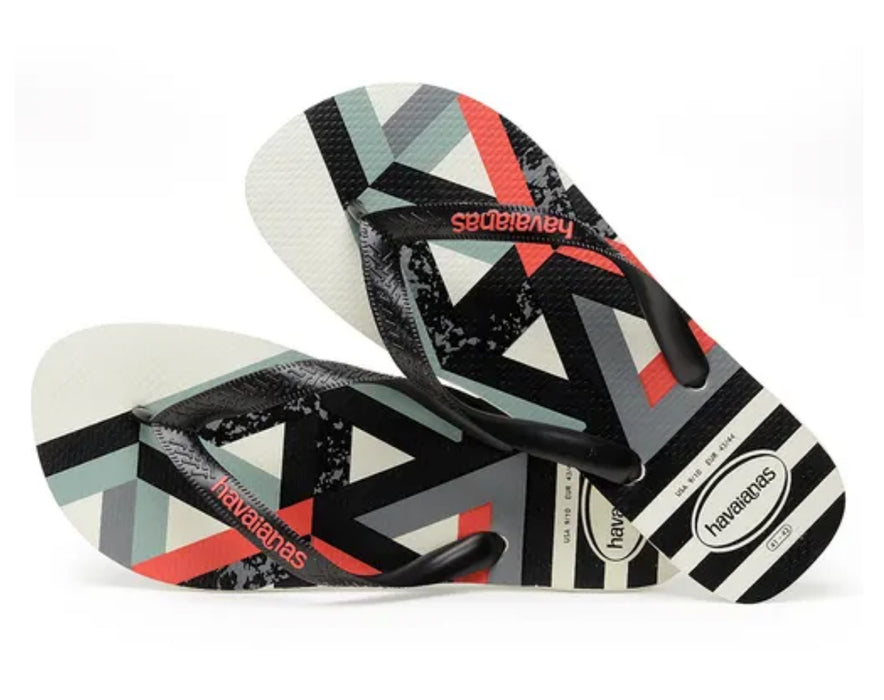 HAVAIANAS TREND in WHITE & STRAWBERRY-3