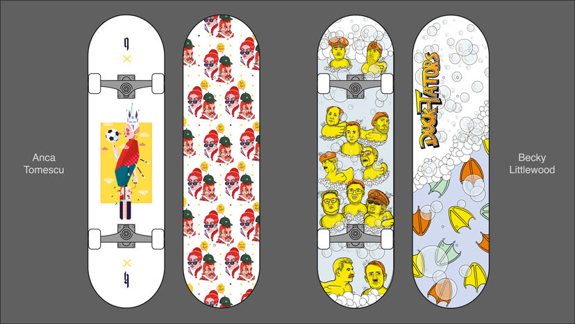 Custom Skateboard designs