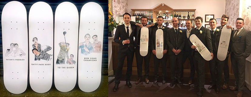 Custom Printed skateboards