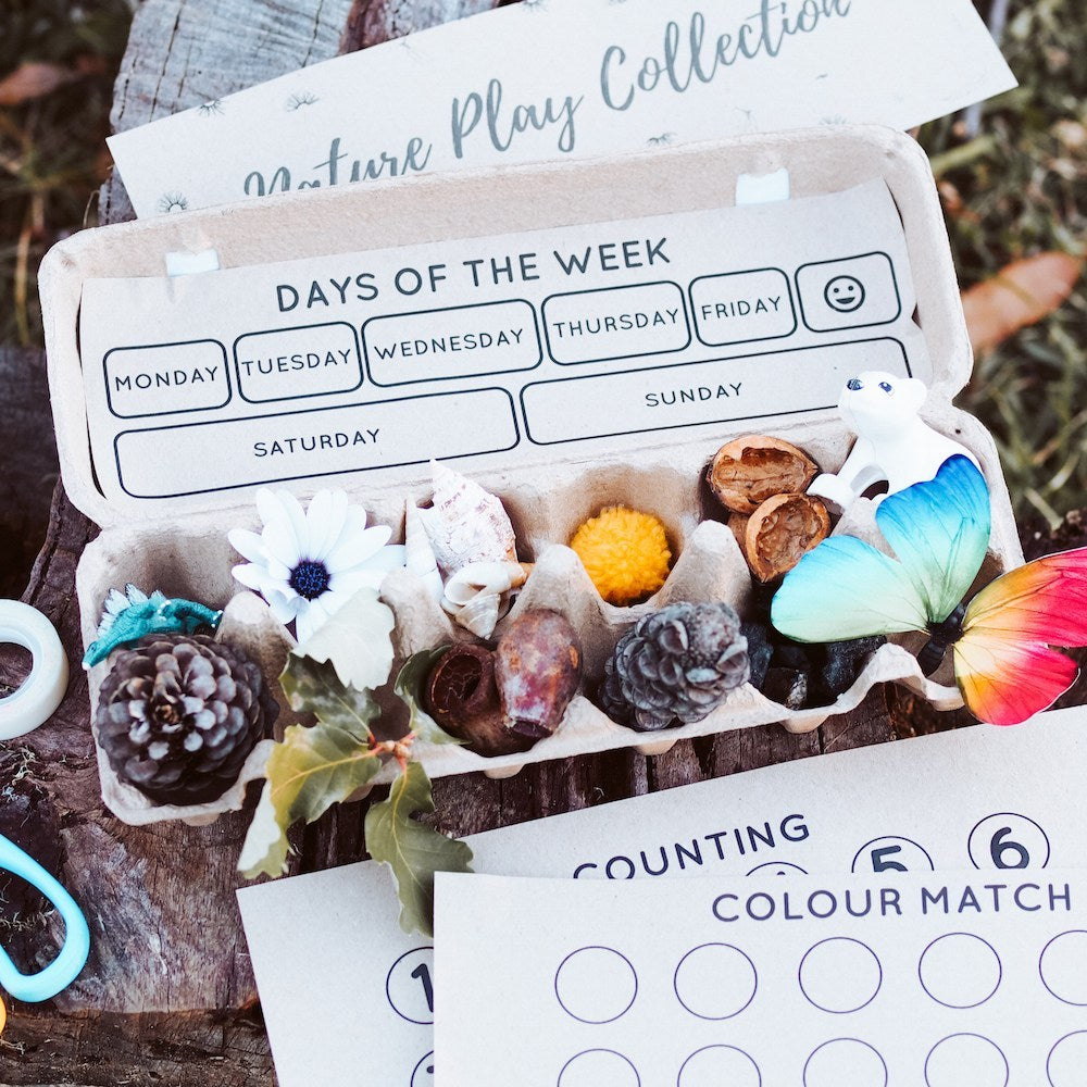 Nature Play Collection Egg Carton – Free Printable