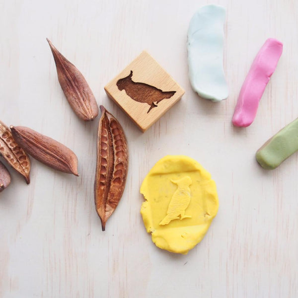 Natural Play Dough Stamp kit-Toy-Wild Mountain Child