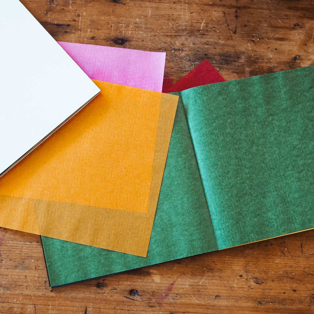 Waxed Kite Paper Assorted Rainbow Colours