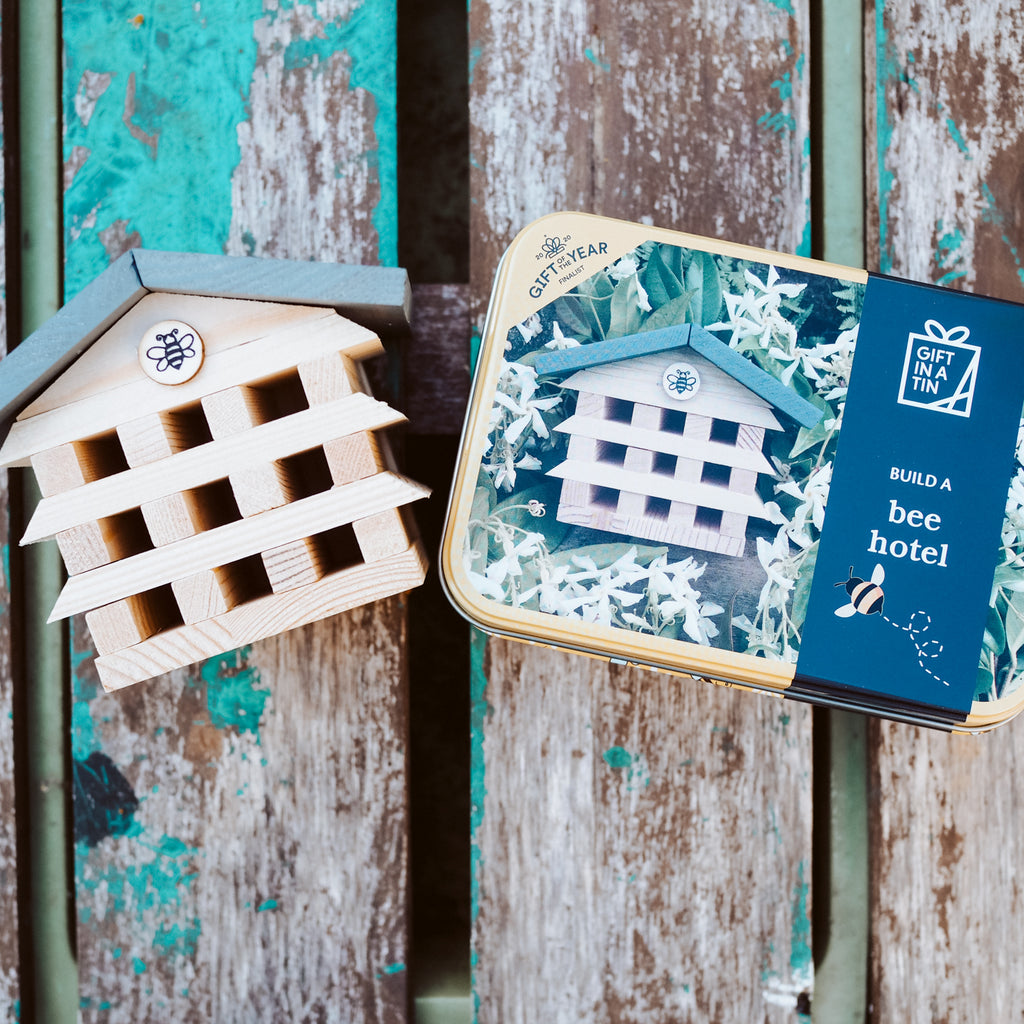 Build a Bee Hotel - Gift in a Tin
