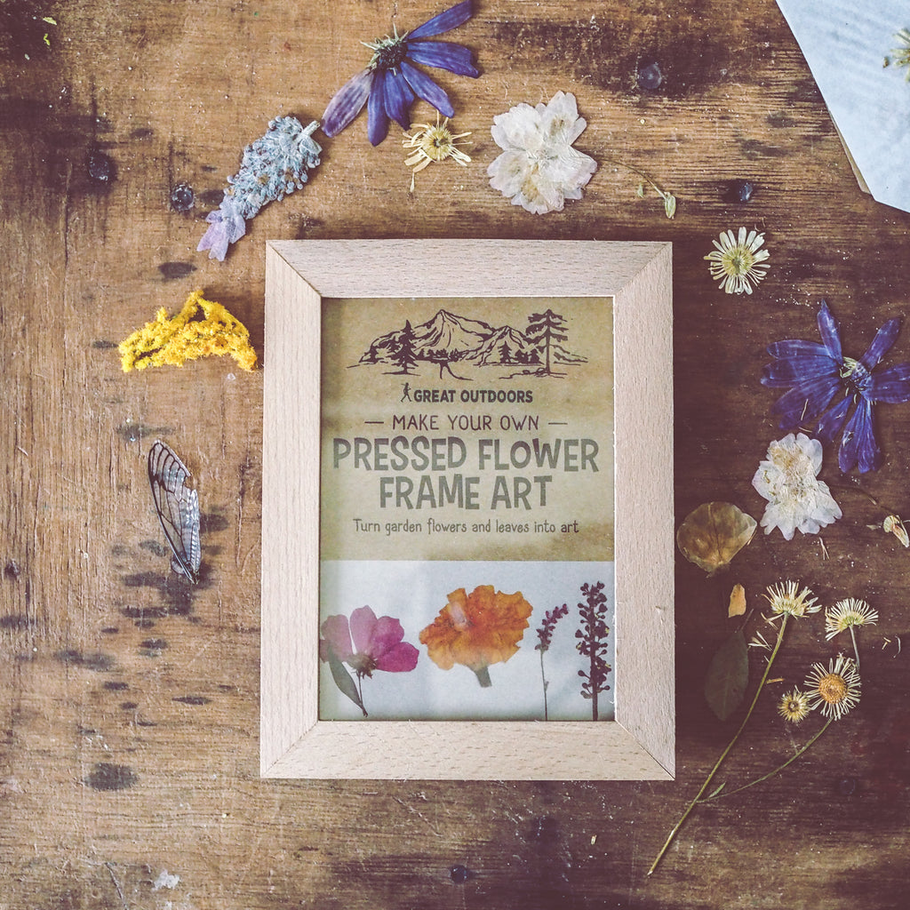 Kikkerland Flower Press Frame | Arts & Crafts - Wild Mountain Child