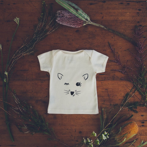 Playful Possum Organic Cotton Baby T-shirt-Wild Mountain Child