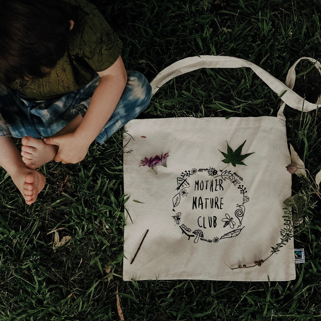 Nature Hunt Tote - Mother Nature Club Print