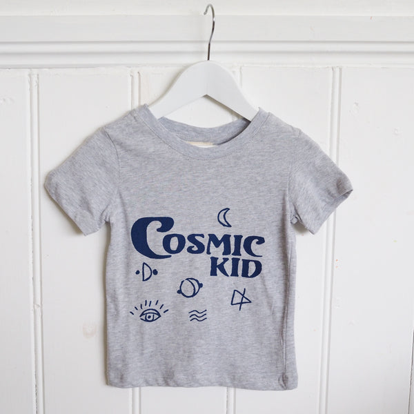 Cosmic Kid Grey T-Shirt