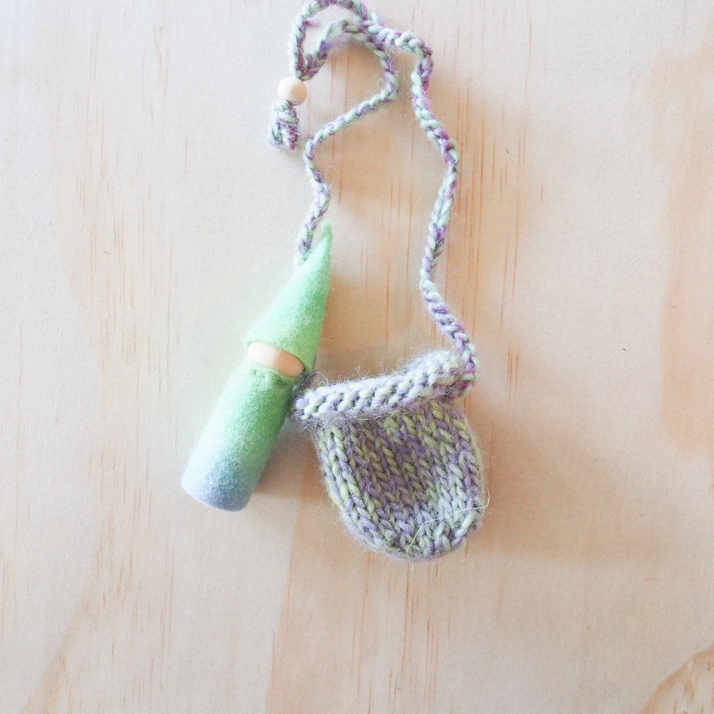 Rainbow Peg Gnome Treasure Pouch-Toys-Wild Mountain Child