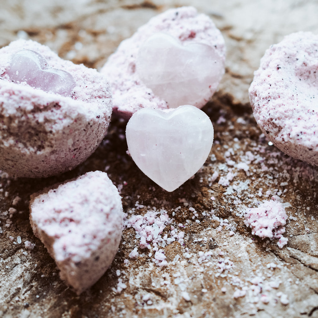 Rose Quartz Heart PlayFizz { Limited Edition }