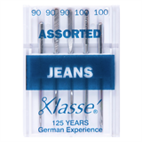 Machine Needles - Jeans Assorted