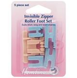 Invisible Zipper Roller Foot Set