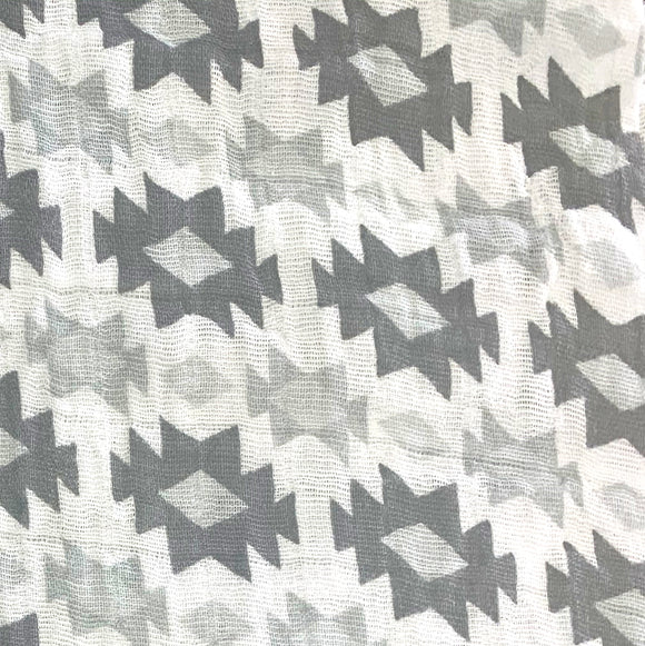 Double Gauze (Muslin) - Diamonds - Sold by Half Meter