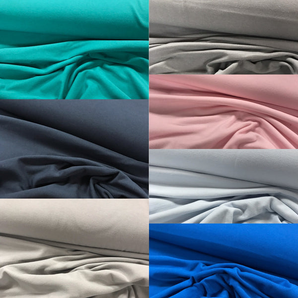 Cotton Jersey - Select Colour