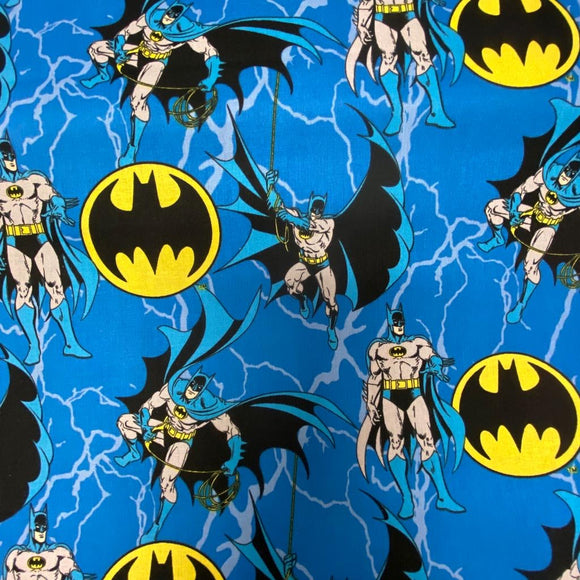 100% Cotton - Batman - Sold By Half Metre