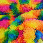 Super Soft Fleece - Rainbow Fur