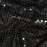 Sequin Spot 6mm - Black
