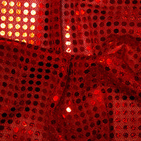 Sequin Spot 6mm - Red
