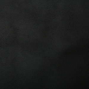 Leatherlook Matt FR PVC - Black - Sold by Half Metre