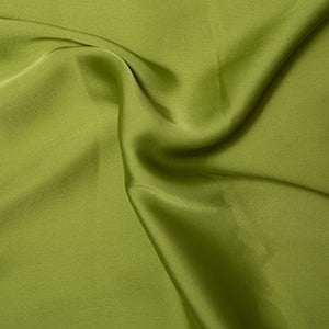 Silky Satin - Chartruese - Sold By Half Metre