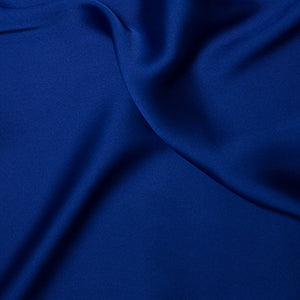 Silky Satin - Royal Blue - Sold By Half Metre