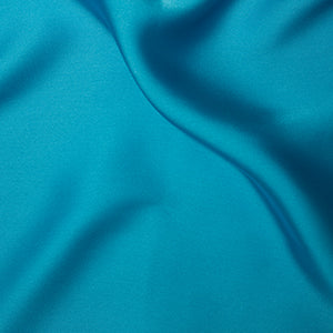 Silky Satin - Turquoise - Sold By Half Metre