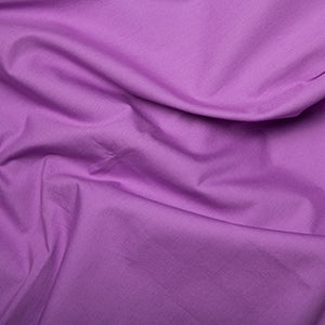 100% Cotton Poplin Plain - Lotus - Sold by Half Metre