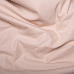 100% Cotton Poplin Plain - Natural - Sold by Half Metre