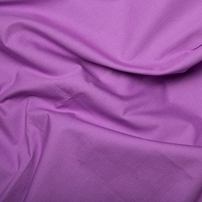 100% Cotton Poplin Plain - Select Colour