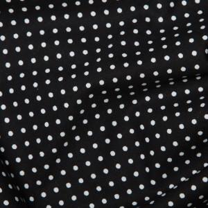100% Cotton Fat Quarter - Black Spot