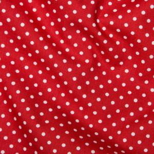 100% Cotton Fat Quarter - Red Spot