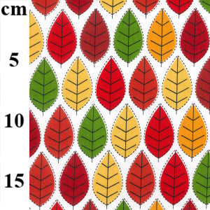 100% Cotton Fat Quarter - Autumn Leaves