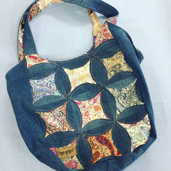 Recycled Denim Patchwork Bag Workshop