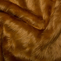Short Pile Faux Fur - Honey